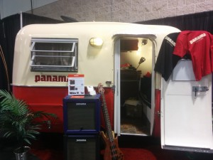 panama guitars VW van